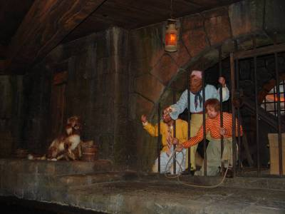 Magic Kingdom - on Pirates of the Caribbean ride photo