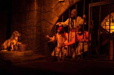 Photo illustrating <font size=1>Magic Kingdom - Pirates of the Caribbean Ride