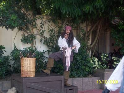 Photo illustrating Magic Kingdom - Adventureland - Pirate Training