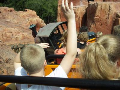 Uh, Who's Driving the Train at Big Thunder Mountain Railroad? photo