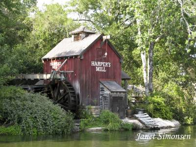 Magic Kingdom Tom Sawyer Island photo