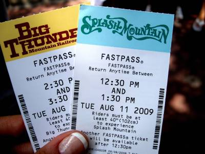 Magic Kingdom - Frontierland fastpasses
