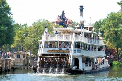 Photo illustrating Liberty Square Riverboat