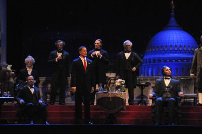 Photo illustrating Hall of Presidents