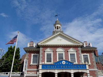 Photo illustrating Magic Kingdom - Hall of Presidents