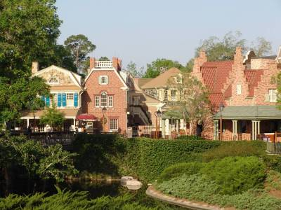 Magic Kingdom - Liberty Square buildings photo