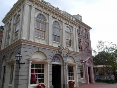 Photo illustrating <font size=1>Magic Kingdom - Heritage House