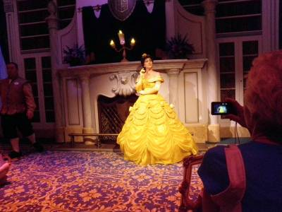 Photo illustrating <font size=1>Enchanted Tales With Belle