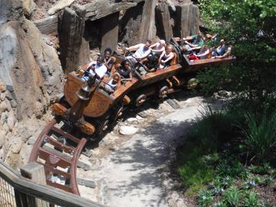 Photo illustrating Seven Dwarfs Mine Train