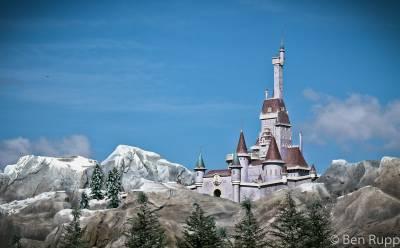 Photo illustrating <font size=1>Beasts Castle - Magic Kingdom