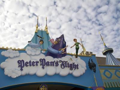 Photo illustrating <font size=1>Magic Kingdom - Fantasyland