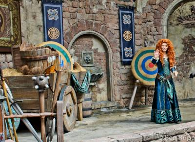 Photo illustrating <font size=1>Hello Merida
