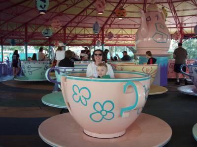 Mad Tea Party Tea Cup Magic Kingdom Passporter Photos