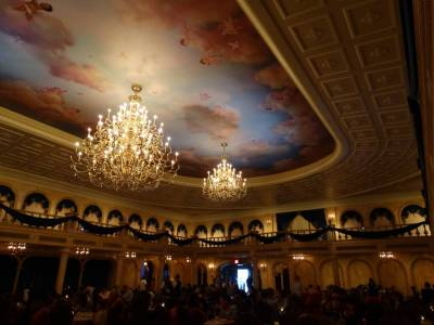 Photo illustrating Magic Kingdom - Be Our Guest