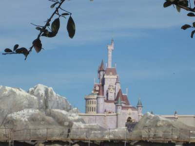 Photo illustrating Beast Castle at Magic Kingdom