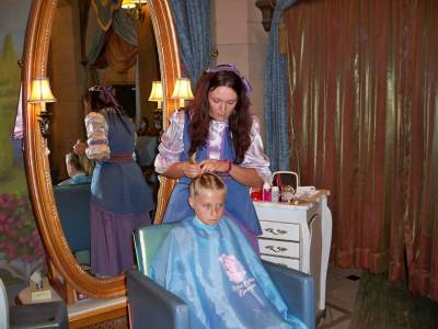 Photo illustrating Magic Kingdom - Bibbidi Bobbidi Boutique