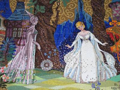 Magic Kingdom - Cinderella Castle: Mosaics photo