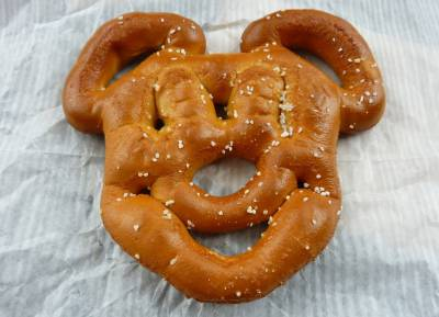 Photo illustrating Mickey Pretzel from Cool Ship