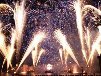 Photo illustrating <font size=1>Epcot - Illuminations