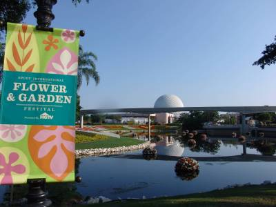 Photo illustrating Epcot - Flower and Garden Festival
