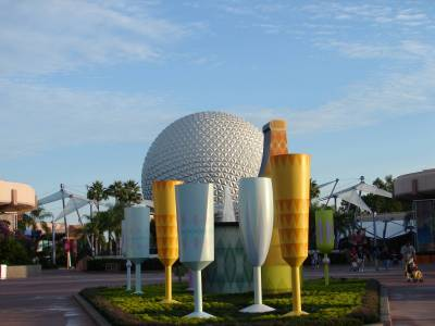Photo illustrating <font size=1>Spaceship Earth