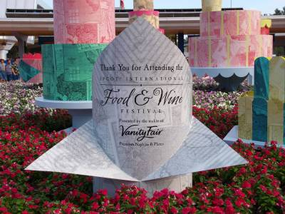 Photo illustrating <font size=1>Epcot International Food and Wine Festival