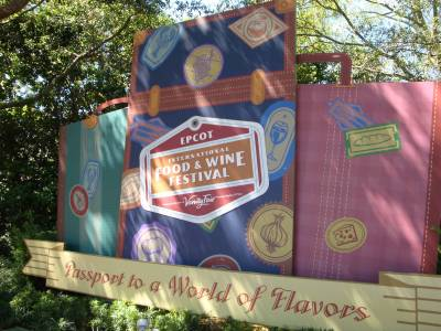 Photo illustrating Food and Wine Festival