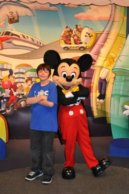 Photo illustrating <font size=1>The Character Spot - Mickey