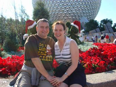 Epcot - Christmas topiaries