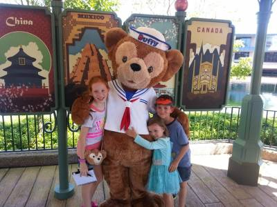 Photo illustrating Duffy and Kids
