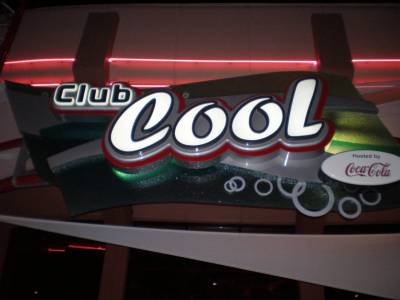 Photo illustrating Epcot- Club Cool