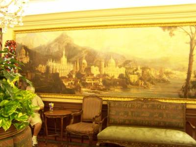 Photo illustrating <font size=1>Art Inside Tutto Italia in Italy in World Showcase at Epcot