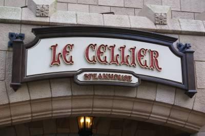 Photo illustrating <font size=1>Le Cellier Sign