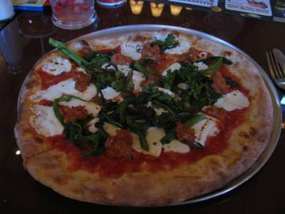 Via Napoli- Italy-  Individual Size Piccante Pizza photo