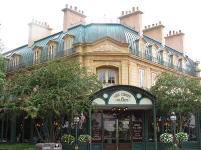Photo illustrating <font size=1>Epcot - Les Chefs de France