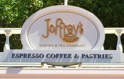 Photo illustrating <font size=1>Espresso Coffee and Pastries