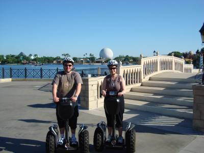Epcot - on Segways photo