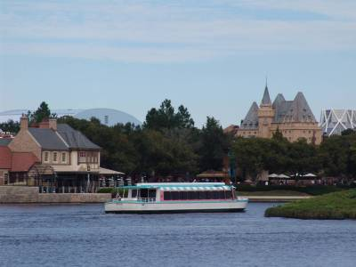 Epcot - Friendship on World Showcase lagoon photo