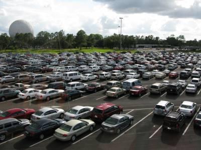 Photo illustrating <font size=1>Parking Lot