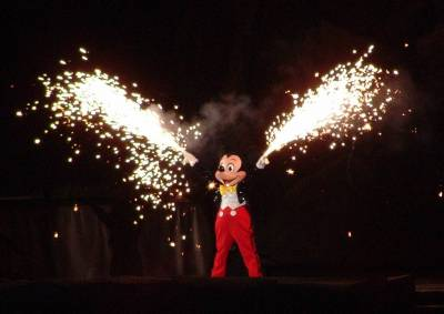 Photo illustrating Hollywood Studios - Fantastic Fantasmic!