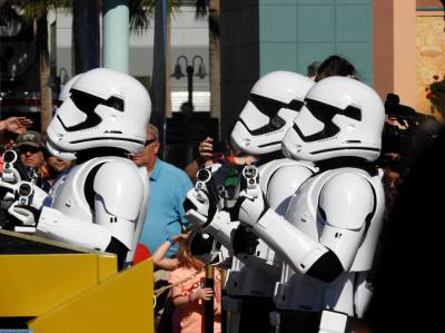 Photo illustrating March of the First Order