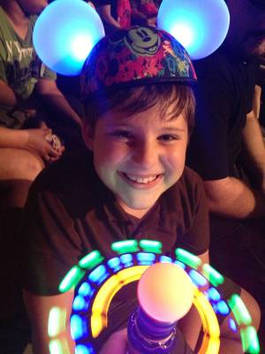 Photo illustrating <font size=1>Glow with the Show at Fantasmic - Hollywood Studios