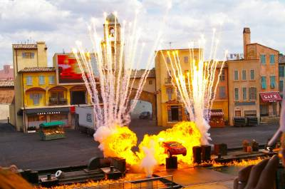 Photo illustrating <font size=1>Lights, Motors, Action! Extreme Stunt Show