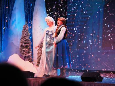 Photo illustrating <font size=1>Frozen Sing-A-Long