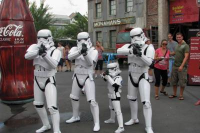 Photo illustrating <font size=1>Star Wars Weekends