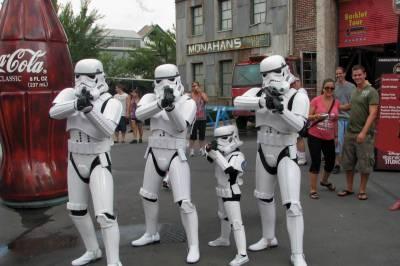 Photo illustrating <font size=1>Star Wars Weekends