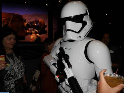 Photo illustrating Stars Wars A Galatic Spectacular Dessert Party