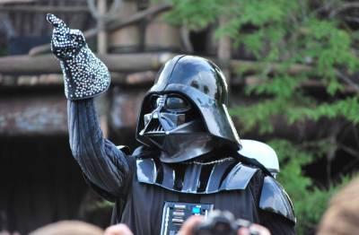 Photo illustrating Hollywood Studios - Darth Vader Dancing - Star Wars Weekends