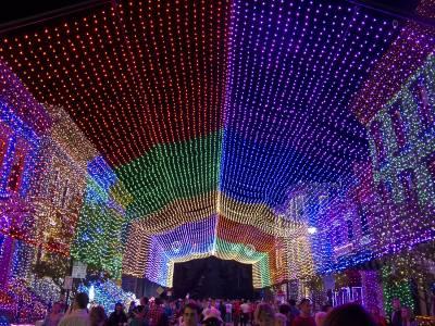 Photo illustrating <font size=1>Disney Hollywood Studios - Osborne Spectacle of Lights