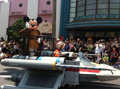 Photo illustrating 2011 DHS Star Wars Weekends